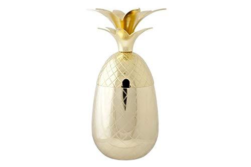 Cosy & Trendy ananas beker goud 400ml