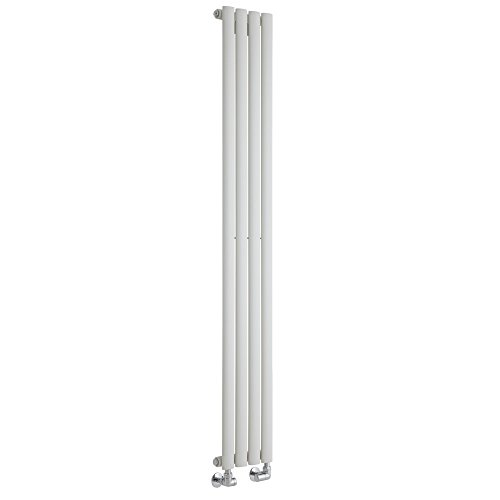 Milano Radiador de Diseño Revive Vertical - Blanco - 561W - 1600 x 236mm