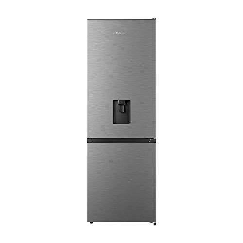 Fridgemaster 287 Litre 70/30 Freestanding Fridge Freezer - Silver