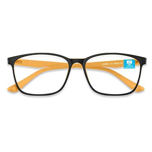 [2020 Latest] Blue Light Blocking Gaming Glasses, Computer Reading/TV/Phones Glasses for Women Men, Bluelight Blockers Blue Ray Screen Lense Glasses Anti Eye Strain Headache & UV Glare