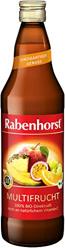 Rabenhorst Multifrucht Bio-Mehrfruchtsaft, 6er Pack (6 x 700 ml)