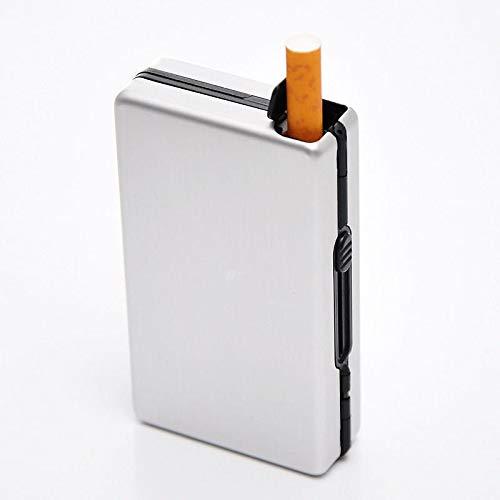 HYY-YY Tragbare Konvention 10 Zigaretten Halter Hülle Semi Automatische Zigarre Tabak Lagerung Dekorative Boxen Herren Geschenke Hohe Qualität