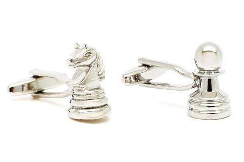 Gemelolandia - Gemelos ajedrez peón y caballo