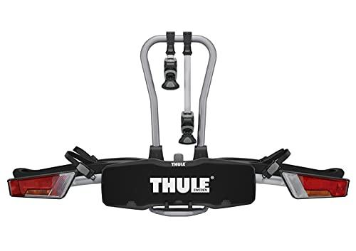 Thule EasyFold 931, Thule Fahrradträger, Klappbar, Easy Fold, Heckfahrradträger für Anhängerkupplung, Fahrradträger E-Bikes
