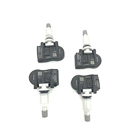SSXPNJALQ 4pcs 433MHz 40700-0435R S180052064Z TPMS Sensor de presión de neumáticos Ajuste para Renault Megane Laguna Fluence Latitude 407003743R 407000435R