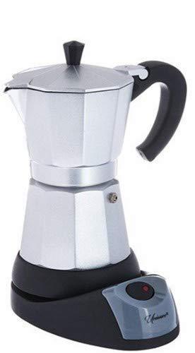 3 Cup Uniware Professional Electric Espresso/Moka Coffee Maker
