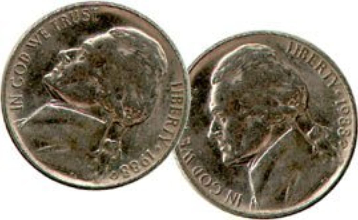 Double Sided Coin  Nickel  Head  You're ALWAYS a Winner  by MAK