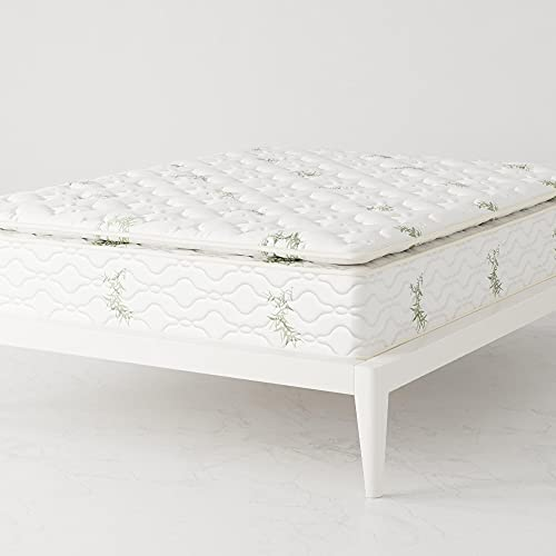 "Signature Sleep 13"" Hybrid Coil Mattress, Queen, White"