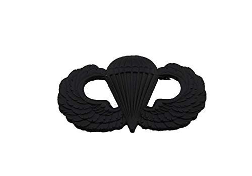 US Army Airborne Paratrooper Parachutist Jump Wings Badge Insignia PIN-Black