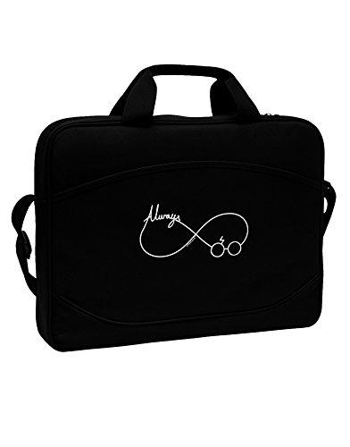 TooLoud Always Infinity Symbol 15' Dark Laptop/Tablet Case Bag