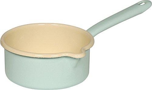 Casseruola smaltata 0,75 l Riess Blu Turchese