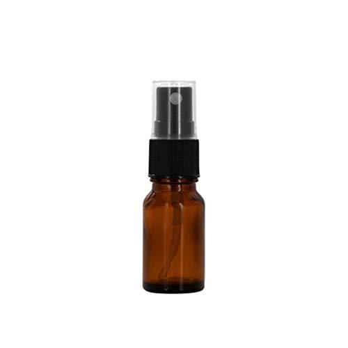 Flacon vaporisateur - Couleur ambre - Vide - Pour huile essentielle - 10, 15, 20, 30, 50, 100 ml - Par Geshiglobal