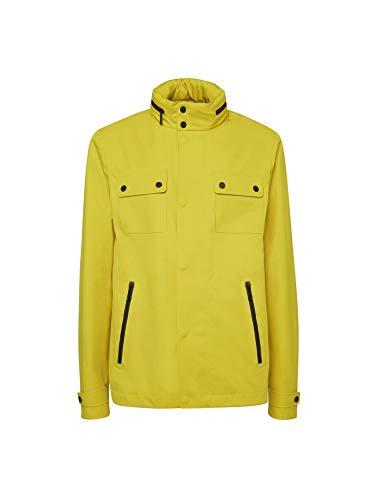 Geox Sanford - Chaqueta impermeable para hombre, color amarillo...