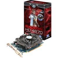 Sapphire ATI Radeon HD 4670 Grafikkarte (PCI-e, 512MB GDDR3 Speicher, DVI, HDMI, 1 GPU) Lite Retail
