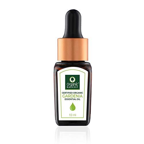 Organic Harvest Huile essentielle de gardénia Usda, Onecert, certifiée biologique, 100% pure, non diluée, qualité thérapeutique, excellente pour l'aromathérapie, 1/3 fl. Oz / 10 Ml 2857 $ 28,57 $