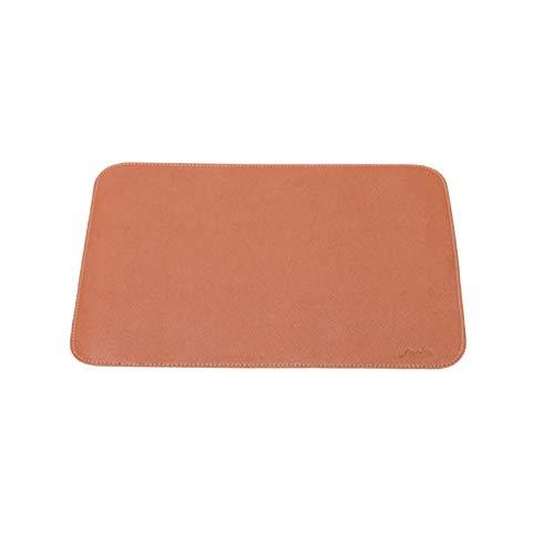 Manteles de mesa de piel impermeables al aceite, para zonas de barbacoa, alfombras de picnic de oficina, suelos antideslizantes.
