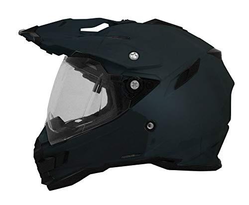 Integralhelm AFX FX-41 Dual Sport Farbe schwarz glänzend Größe S geprüft