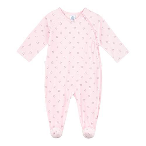 Sanetta Baby-Mädchen Overall Sorbet Kleinkind-Schlafanzüge, rosa, 056