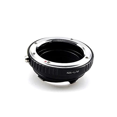AI-LM - Anillo adaptador de objetivo para Nikon AI F, compatible con cámaras Leica M1, M2, M3, M4, M5, M6, M7, M8, M6TTL, MD, MP2, Epson R-D1, Minolta CL; GXR; RF&35 RF.AI-LM