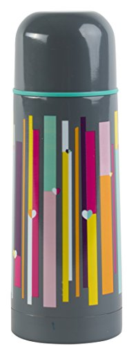 BEAU & ELLIOT Linear Vacuum Flask, Multi-Colour, 7x7x20 cm