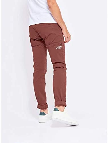 LOOKING FOR WILD - Pantalon Fitz Roy Homme ROUGE