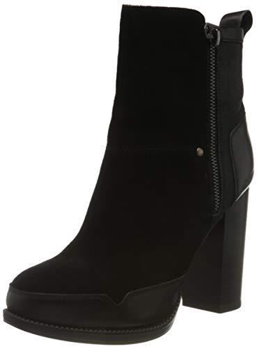 G-Star RAW Damen Labour Zip Ankle Boot, Black, 38 EU