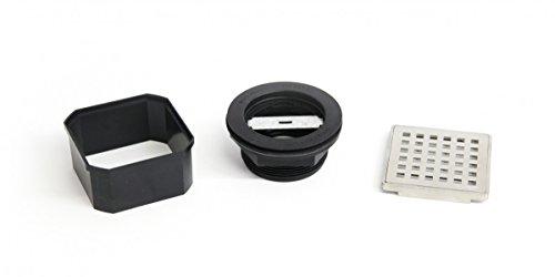 Wedi Fundo Stainless Steel Drain Kit Standard Drain ABS - Drain Only