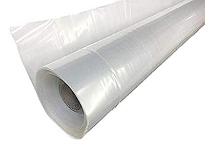Farm Plastic Supply 4 Year Clear Greenhouse Film 6 mil Thickness (25'W x 40'L)