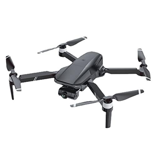 RHTY Gimbal Pieghevole A Due Assi HD Aerial Fotografia 5G WiFi Dual Fotocamera GPS Quadcopter del Giocattolo del Drone Senza Spazzole