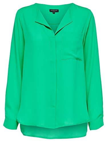 SELECTED FEMME Damen Hemd Loose Fit 36Gumdrop Green