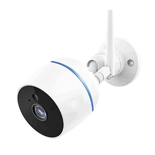 HLSH Cámara CCTV para Exteriores WiFi con PTZ, Cámara IP Inalámbrica, Visión De La Visión Nocturna Infrared Detección De Movimiento Vigilancia(Size:Camera+64G)