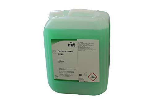 Seife - Grün - Cremeseife Seifencreme Flüssigseife 10 Liter Kanister (1 X 10 Liter)
