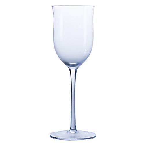 Goodvk Copa de Vino Tinto Copa de Cristal Copa Copa de champán Vino Whisky Beber Home Bar Hotel Fiesta Decoración Elegante (Color : Clear, Size : 190ml)