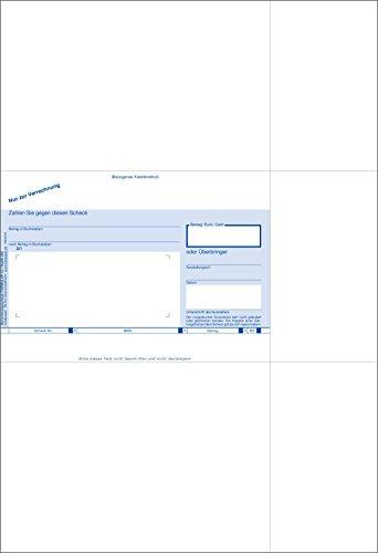 Bits&Paper BP0113A - SEPA-Verrechnungsscheck inklusiv WinBankformular-Software
