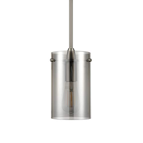 Polished Nickel Island Pendant - 1