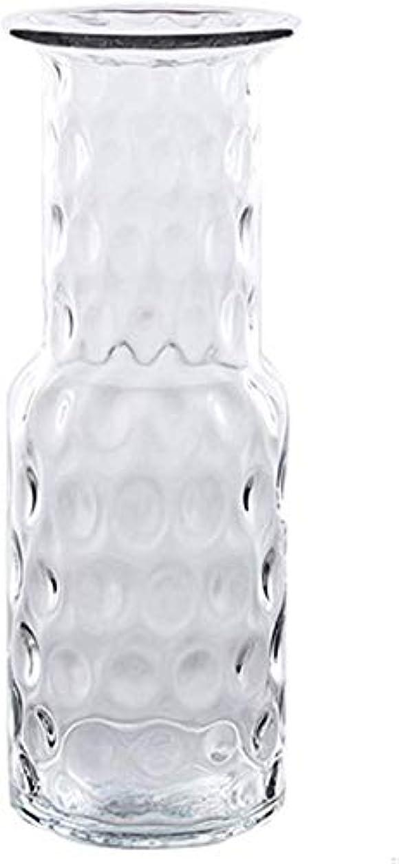 宇宙船アクセサリーで出来ている花器 透明なガラスフラワーアレンジメントじょうろファミリーベッドルームリビングルーム水耕栽培の植物の花13 * 18 * 12.5センチメートル花瓶 花瓶 (Size : M:12cm*39cm)
