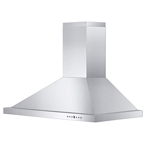 "Z Line KB-30 30"" 760 CFM Wall Mount Range Hood, Stainless-Steel"