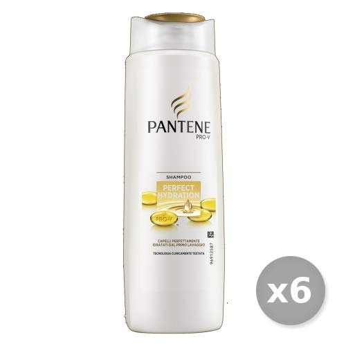 Pantene Set 6 Shampoo 1-1 Perfect Hydration 250 Ml. Prodotti per Capelli, Multicolore, Unica