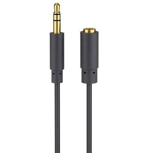 Cable de extensión alargador de Auriculares Mini Jack 3.5 mm (3 Metros)