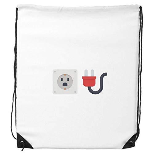 DIYthinker Steckdose Schaltplan-Muster-Rucksack Einkaufssporttaschen Geschenk