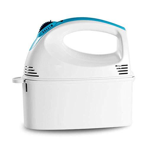 CHUTD Hand Mixer, Mixers Keuken Hand Held Elektrische Klop Hand Blender met Opbergdoos Huishoudelijke Gebruik 5 Speed Levels Plus Turbo Functie Sneller Bezem Exchange, Licht Gewicht, Zeer Rustig 125W
