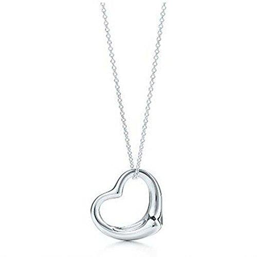 Unbekannt Sterling Silber Herz Anhänger Kette Halskette jwellery Geschenk