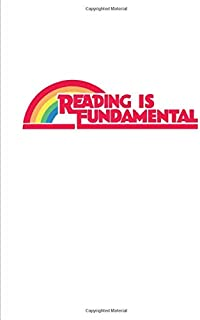 Reading is Fundamental: Rainbow Composition Notebook College Ruled Lined 70 Sheets (140 pages) (7.44 x 9.69) for Drag Queens and Drag Race lovers