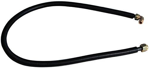 Viega 22411 6 Anschlussgarnitur 106010 zu Multiplex Trio, 1500 mm, schwarz
