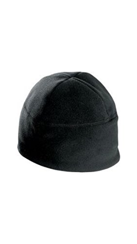 Military Black Polartec 100 Fleece Watchmans Cap