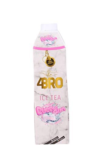 4BRO ICE TEA - BUBBLE GUM - Eistee mit Kaugummi Geschmack (1000ml)