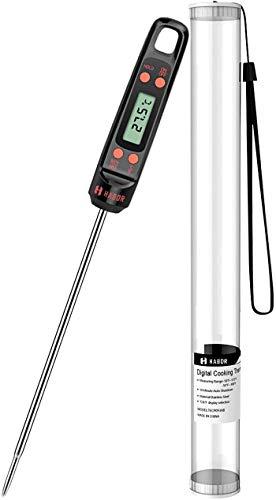 Habor Termometro de Cocina Termómetro para Carne Digital,