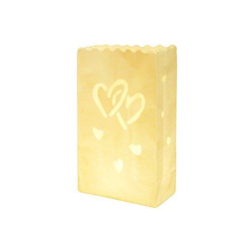Diawell 10 STK. Lichttüten, Candle Bags, Luminaria Party & Feier Liebe Schmetterlinge …