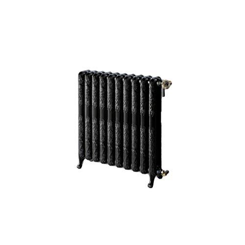 Radiador calefacción de hierro fundido, modelo HF Epoca 90, 8 elementos, accesorios incluídos y preparados para su conexión a 1/2, 20 x 53 x 115 centímetros (Referencia: 105890800)