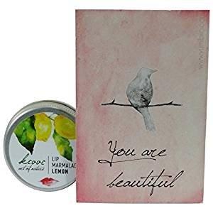 KIVVI Lemon Lip Marmalade Schutz & Pflege für gesund aussehende Lippen Stimuliert die Kollagenproduktion
